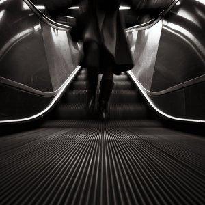 """Down From The Escalator,"" Mikael Raymond"