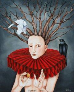 """The Tree of Knowleddge of Good and Evil,"" Pamela Dzaet"