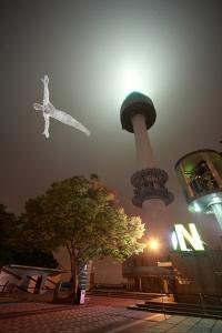 """""""Les-Voyageurs,"""" Cedric Le Borgne, Seoul - 2008 & 2011-3"""
