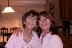 Dorianne Laux & Mom