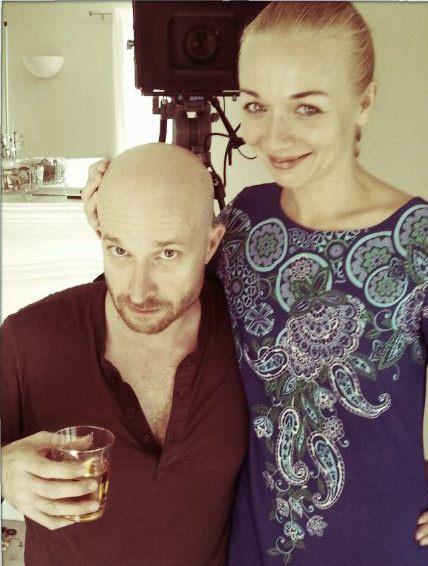 Matteo & actress-wife, Elena-Cristina Marchisano