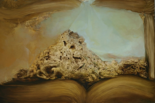 """Maktub"" oil on board 16"" x 24"" © David Begley 2011 - 2012"