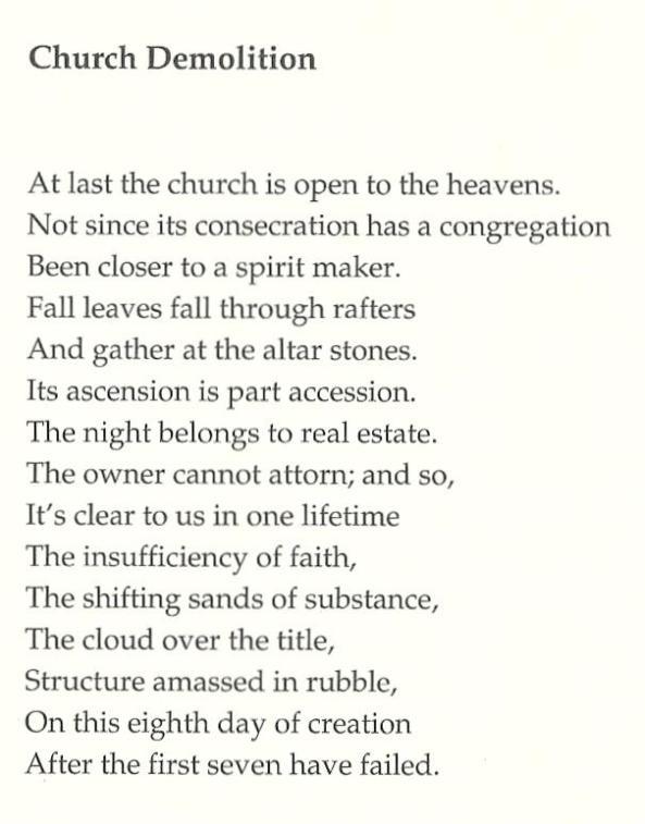 """""""Church Demolition"""" by Salvatore Ala"""