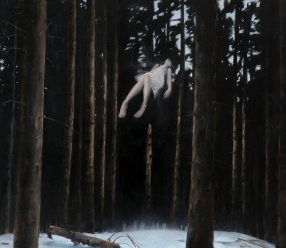 henrik-aarrestad-uldalen-ls-woman-floating-in-forest