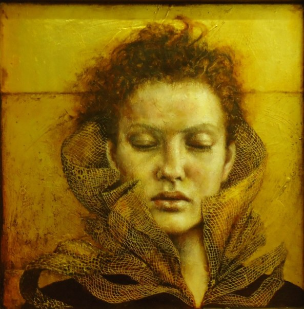 UK painter, Pam Hawkes